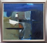 Lot 184 - * DENNIS BUCHAN, ABSTRACT oil on canvas,...