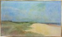 Lot 187 - CONTEMPORARY SCHOOL, BEACH SCENE oil on canvas...