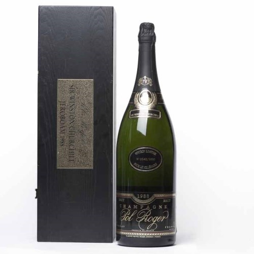 Lot 1491-POL ROGER MM 1988 CUVEE SIR WINSTON CHURCHILL...