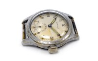 Lot 751-GENTLEMAN'S LEONIDAS MILITARY ISSUE STAINLESS...