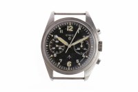 Lot 754-GENTLEMAN'S CWC MILITARY ISSUE STAINLESS STEEL...