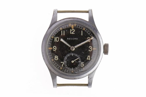 Lot 769-GENTLEMAN'S RECORD MILITARY ISSUE STAINLESS STEEL ...
