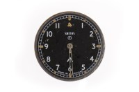 Lot 800-SMITH'S MILITARY ISSUE WRIST WATCH DIAL AND...