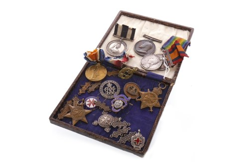 Lot 1255-GROUP OF ST. JOHN AMBULANCE SERVICE MEDALS...