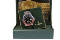 Lot 862 - ROLEX OYSTER PERPETUAL DATE GMT-MASTER...