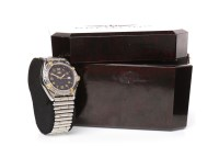Lot 887 - LADY'S BREITLING WINGS STAINLESS STEEL QUARTZ...