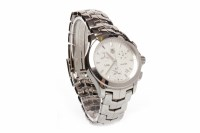 Lot 889 - LADY'S TAG HEUER LINK CHRONOGRAPH STAINLESS...