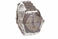 Lot 942 - LADY'S BREITLING COCKPIT STAINLESS STEEL...