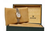 Lot 954 - LADY'S ROLEX OYSTER PERPETUAL SUPERLATIVE...