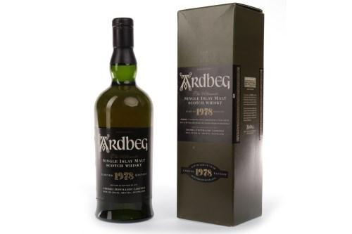 Lot 1012-ARDBEG 1978 Active. Port Ellen, Islay. Bottled...
