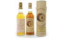 Lot 1025-BRAES OF GLENLIVET 1979 SIGNATORY VINTAGE AGED...