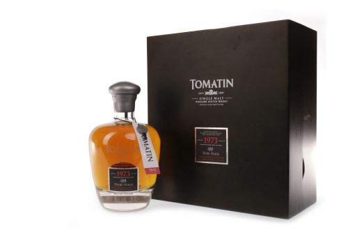 Lot 1310 - TOMATIN 1973 AGED OVER 36 YEARS Active....