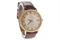 Lot 756-GENTLEMAN'S OMEGA CONSTELLATION GOLD PLATED...