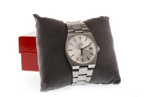 Lot 798 - GENTLEMAN'S OMEGA GENEVE AUTOMATIC STAINLESS...