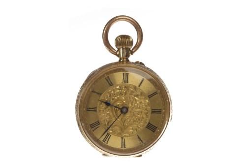 Lot 799 - LADY'S NINETEENTH CENTURY EIGHTEEN CARAT GOLD...