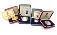 Lot 507-COLLECTION OF SILVER PROOF COINS including...
