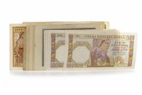 Lot 511-GROUP OF VARIOUS INTERNATIONAL BANKNOTES...