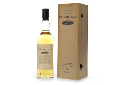 Lot 1017-GLENDULLAN AGED 12 YEARS FLORA & FAUNA Active....