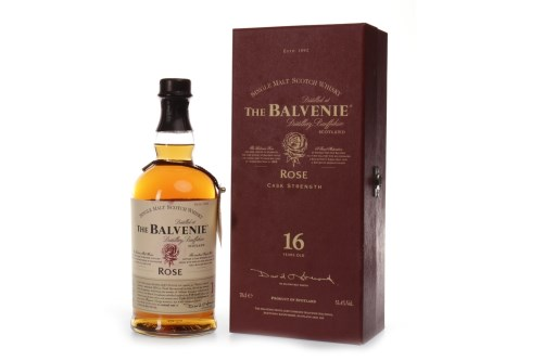 Lot 1074-BALVENIE 1991 'ROSE' 16 YEARS OLD - FIRST EDITION ...