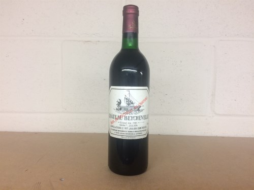 Lot 1 - CHATEAU BEYCHEVELLE 1985 Grand Vin A.C St...