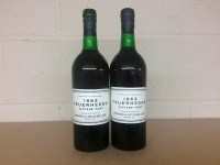 Lot 11-FEUERHEERD 1963 VINTAGE PORT (2) Oporto, Portugal....