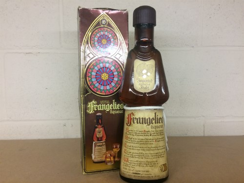 Lot 23-FRANGELICO Hazelnut Liqueur. 750ml, 56° proof.