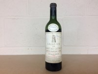Lot 28-CHATEAU LATOUR 1955 Premier Grand Cru A.C...