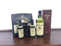 Lot 1-BALLANTINE'S AGED 17 YEARS Blended Scotch Whisky...