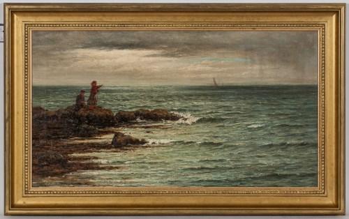 Lot 53-JOSEPH HENDERSON (SCOTTISH 1832-1908), ON THE...