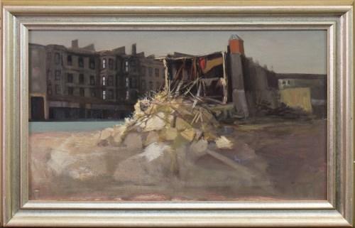 Lot 2-* DANNY FERGUSON RSW RGI (1925 - 1993), THE RUIN...