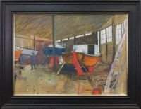 Lot 5-* DAVID MCLEOD MARTIN RSW RGI (SCOTTISH b.1922),...