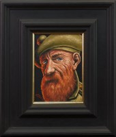 Lot 19-GRAHAM H D MCKEAN, A SCOTTISH SOLDIER oil on...