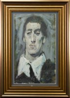 Lot 23-SCOTTISH CONTEMPORARY SCHOOL, PORTRAIT OF A VAIN...