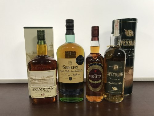 Lot 12-STRATHISLA AGED 12 YEARS - 1 LITRE Active. Keith, ...