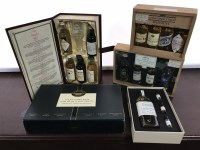Lot 18-VARIOUS MALT WHISKY MINIATURE GIFT PACKS To...