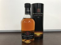 Lot 21-HIGHLAND PARK AGED 12 YEARS DUMPY BOTTLE Active....
