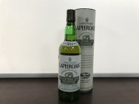 Lot 22-LAPHROAIG QUARTER CASK Active. Port Ellen, Islay. ...