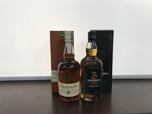 Lot 24-SPRINGBANK AGED 10 YEARS Active. Campbeltown,...