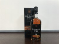 Lot 25-HIGHLAND PARK AGED 12 YEARS OLD STYLE Active....