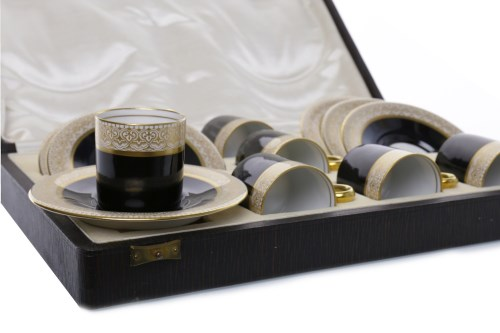 Lot 1255 - EARLY 20TH CENTURY HUTSCHENREUTHER COFFEE...