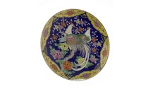 Lot 1053-MID 20TH CENTURY JAPANESE CHARGER with polychrome ...