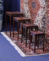 Lot 1059 - 20TH CENTURY CHINESE QUARTETTO NEST OF FOUR...