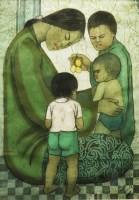 Lot 1071 - CHUAH THEAN TENG (1914-2008), batik painting...