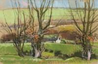 Lot 220-DOUGLAS LENNOX, RICHARDTON pastel on paper,...