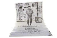 Lot 1655-TAXI DRIVER (1976) PROMOTIONAL POSTER directed by ...