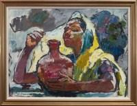Lot 22-WALTER LANGHAMMER (AUSTRIAN 1905 - 1977), INDIAN ...