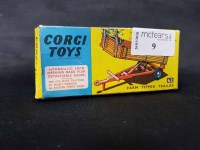 Lot 9-CORGI TOYS 'FARM TIPPER TRAILER' boxed