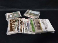 Lot 35-LOT OF VARIOUS POSTARDS including Royal subjects, ...