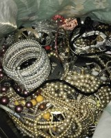 Lot 42-COLLECTION OF VARIOUS COSTUME JEWELLERY