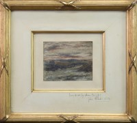 Lot 117-SAM BOUGH RSA (SCOTTISH 1822 - 1901), SUNDOWN...